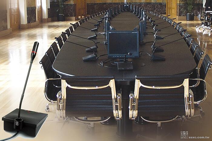 會議討論麥克風管理系統-有線會議系統